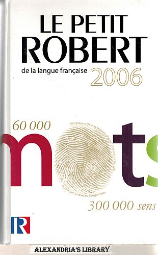 Image for Le Petit Robert de la langue française 2006