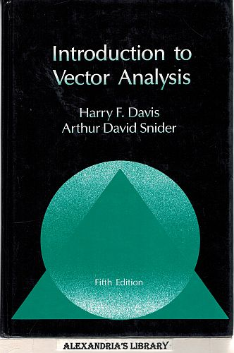 Image for Introduction to Vector Analysis 5 Edition