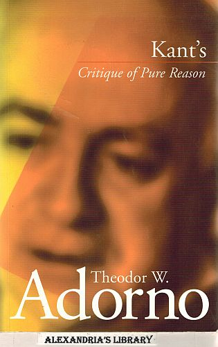 Image for Kant's 'Critique of Pure Reason'
