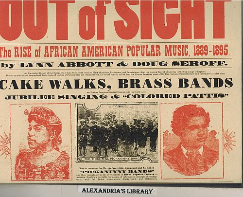 Image for Out of Sight: The Rise of African American Popular Music, 1889-1895 (American Made Music Series)