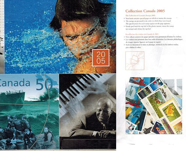 Image for Collection Canada 2005 (with stamps)