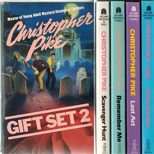 Image for The Christopher Pike Gift Set 2: Spellbound; Last Act; Remember Me; Scavenger Hunt