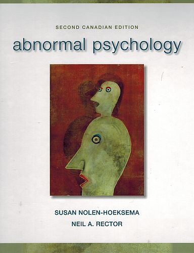 Image for Abnormal Psychology, 2nd Canadian Edition