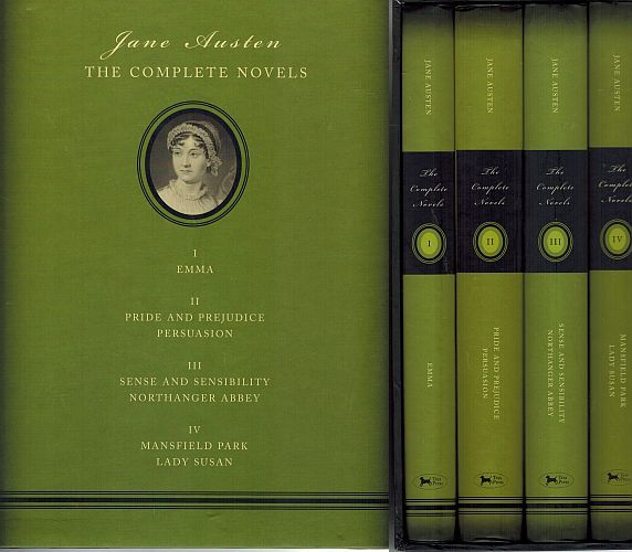 Image for Jane Austen: The Complete Novels (Full set)