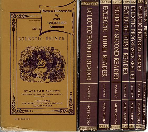 Image for McGuffey's Electic Readers Boxed Set (Seven Volumes)