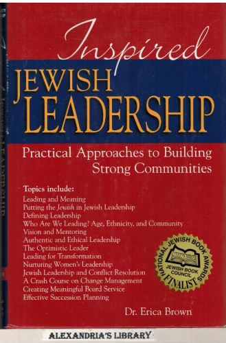 Image for Inspired Jewish Leadership: Practical Approaches to Building Strong Communities