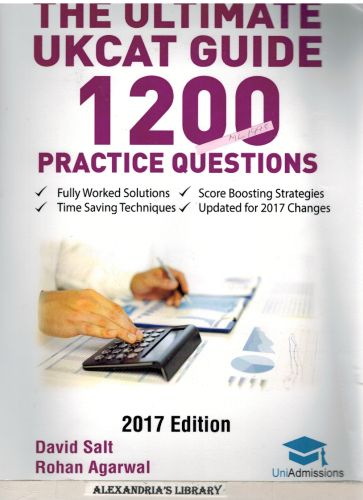 Image for The Ultimate UKCAT Guide: 1200 Practice Questions: Fully Worked Solutions, Time Saving Techniques, Score Boosting Strategies, Includes new Decision Making Section, 2017 Edition UniAdmissions