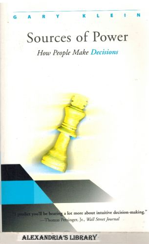 Image for Sources of Power: How People Make Decisions