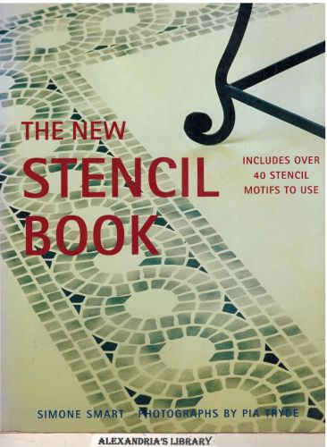 Image for The New Stencil Book: Includes Over 40 Stencil Motifs to Use