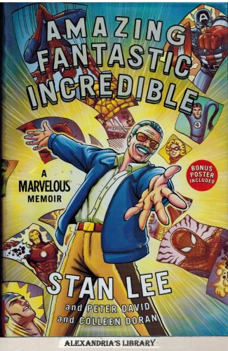 Image for Amazing Fantastic Incredible: A Marvelous Memoir (Includes poster)