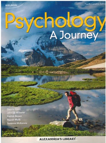 Image for Psychology: A Journey + Printed Access Card for CourseMate