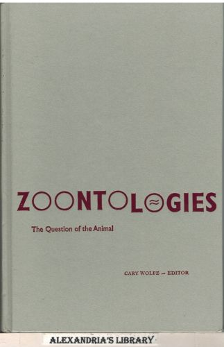 Image for Zoontologies: The Question Of The Animal
