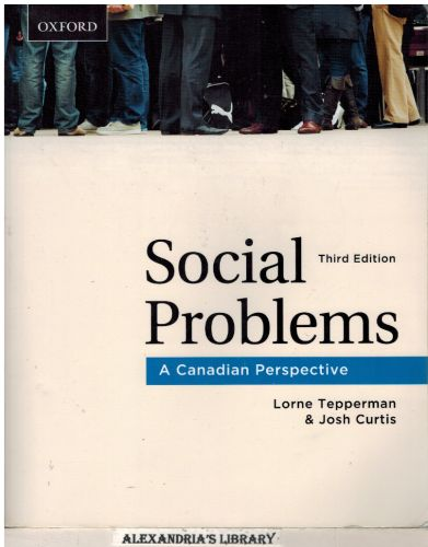Image for Social Problems: A Canadian Perspective