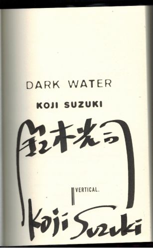 Image for Dark Water (Signed)
