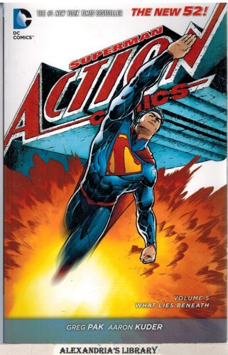 Image for Superman: Action Comics Vol. 5: What Lies Beneath (The New 52)