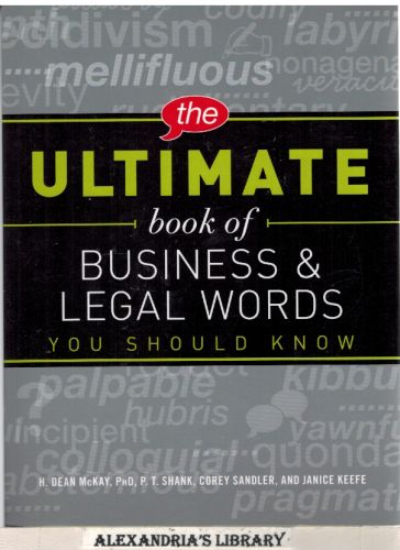 Image for The Ultimate Book of Business and Legal Words You Should Know