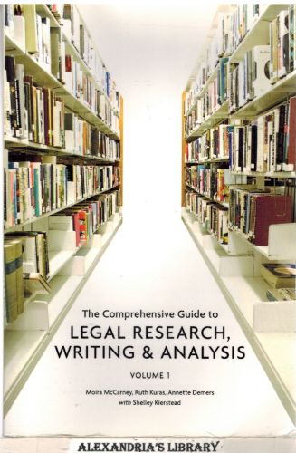 Image for The Comprehensive Guide to Legal Research, Writing and Analysis Volume 1