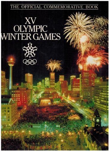 Image for XV Olympic winter games: The official commemorative book