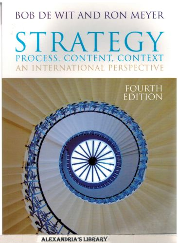 Image for Strategy: Process, Content, Context - Fourth Edition