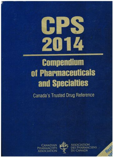 Image for CPS 2014: Compendium of Pharmaceuticals and Specialties