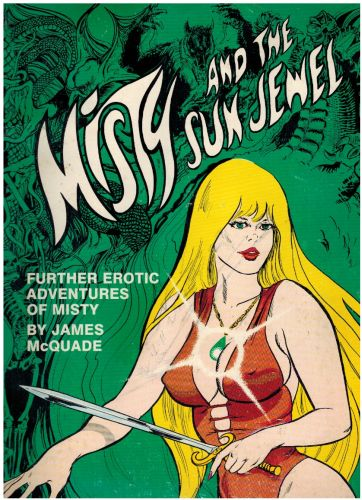 Image for Misty and the Sun Jewel: Further erotic adventures of Misty