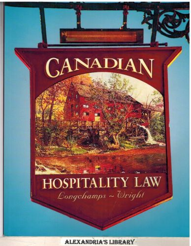 Image for Canadian hospitality law