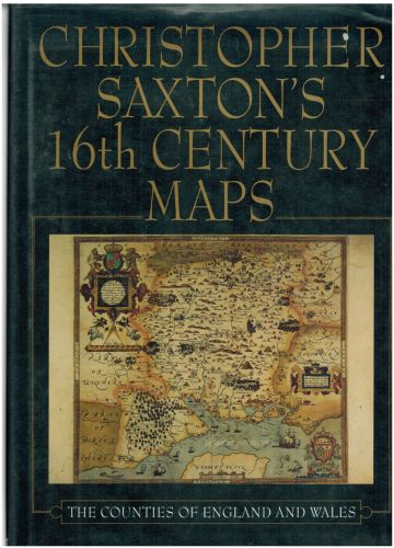 Image for Christopher Saxton's Sixteenth Century Maps