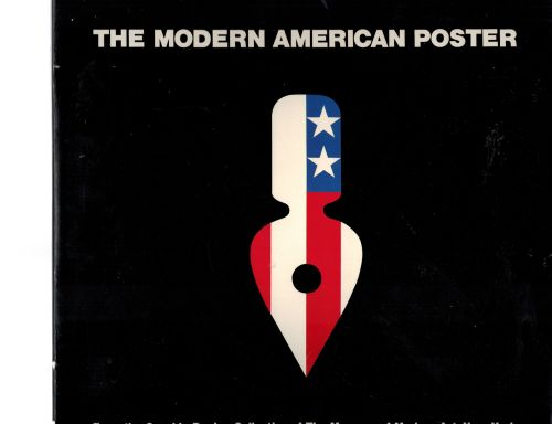 Image for The Modern American Poster (English and Japanese Edition)