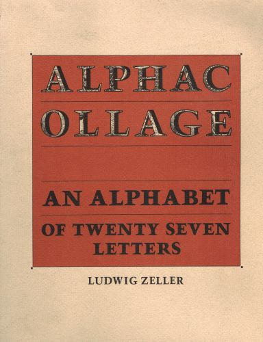 Image for Alphacollage - An Alphabet of Twenty Seven Letters (signed)