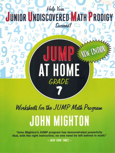 Image for JUMP at Home Grade 7: Worksheets for the JUMP Math Program
