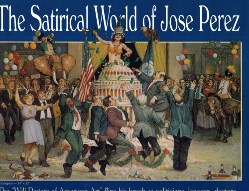 Image for The Satirical World of Jose Perez