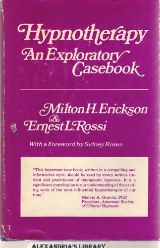Image for Hypnotherapy: An Exploratory Casebook
