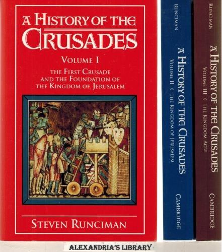 Image for A History of the Crusades 3 Volume Paperback Set