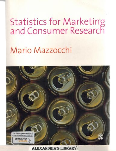 Image for Statistics for Marketing and Consumer Research