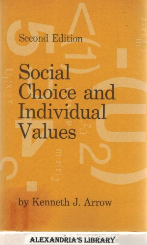 Image for Social Choice and Individual Values, Second edition (Cowles Foundation Monographs Series)