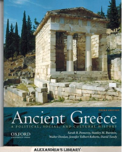 Image for Ancient Greece: A Political, Social, and Cultural History, 3rd Edition