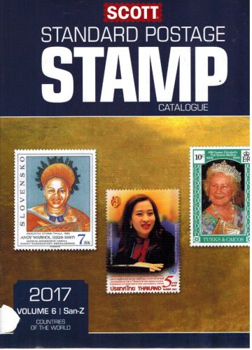 Image for Scott 2017 Standard Postage Stamp Catalogue, Volume 6: San-Z