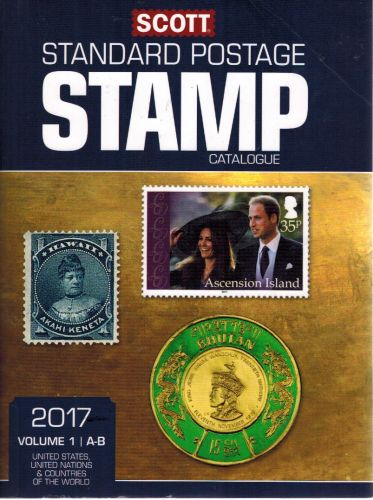 Image for Scott 2017 Standard Postage Stamp Catalogue, Volume 1: A-B: United States, United Nations & Countries of the World (A-B)