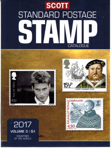 Image for Scott 2017 Standard Postage Stamp Catalogue, Volume 3: G-I: Countries of the World G-I (Scott 2017) (Scott Standard Postage Stamp Catalogue: Vol. 3: Countries of)