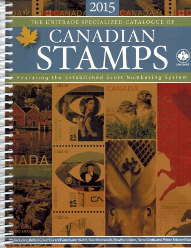 Image for 2015 Unitrade Specialized Catalogue of Canadian Stamps - Scott Numbering