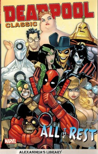Image for Deadpool Classic Vol. 15: All the Rest