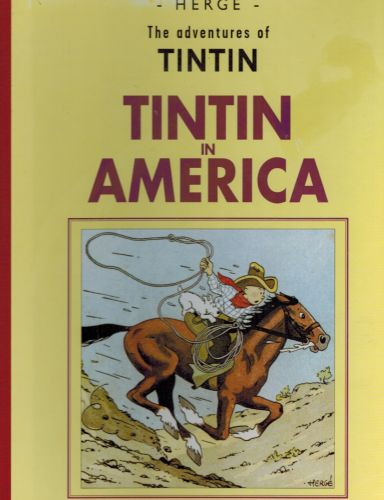 Image for Tintin in America-The Adventures of Tintin