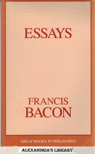Image for Essays (Great Books in Philosophy)