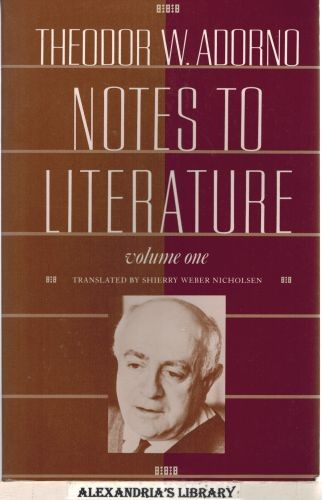 Image for Notes to Literature, Volume One