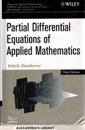 Image for Partial Differential Equations of Applied Mathematics