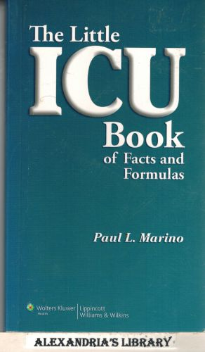 Image for The Little ICU Book of Facts and Formulas