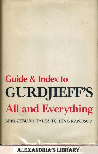 Image for Guide and Index to Gurdjieff's All and Everything: Beezlebub's Tales To His Grandson