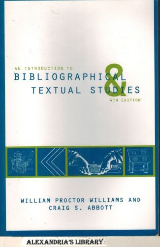Image for An Introduction to Bibliographical and Textual Studies