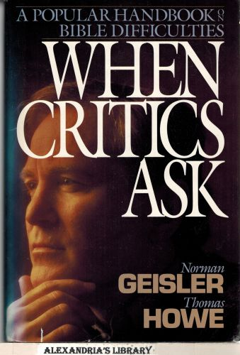 Image for When Critics Ask: A Popular Handbook on Bible Difficulties
