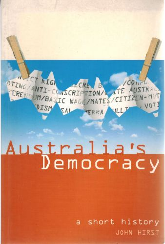 Image for Australia's Democracy: A Short History